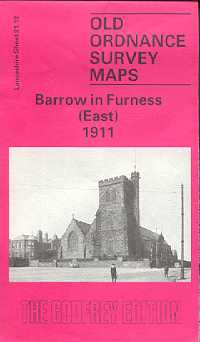 Old Ordnance Survey Maps of Cumberland: Barrow in Furness (East)