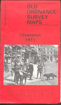 Old Ordnance Survey Maps of Cumberland: Ulverston 1911