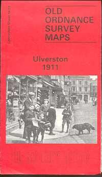 Old Ordnance Survey Maps of Cumberland: Ulverston 1911