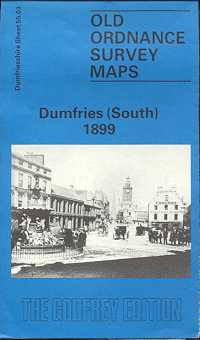 Old Ordnance Survey Maps of Cumberland: Dumfries (South)
