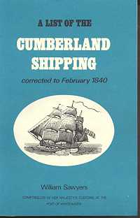 A List of the Cumberland Shipping