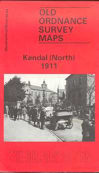 Old Ordnance Survey Maps of Westmorland: Kendal (North) 1911
