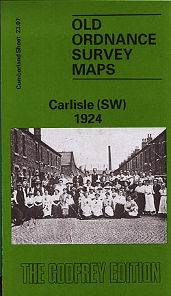 Old Ordnance Survey Maps of Cumberland: Carlisle 1924 (South West)