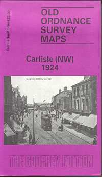 Old Ordnance Survey Maps of Cumberland: Carlisle (North West) 1924