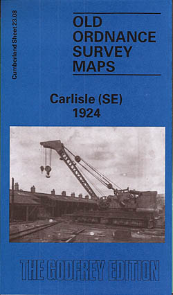 Old Ordnance Survey Maps of Cumberland: Carlisle 1924 (South East)