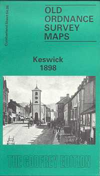 Old Ordnance Survey Maps of Cumberland: Keswick 1898