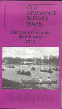 Old Ordnance Survey Maps of Cumberland: Barrow in Furness (North-east)
