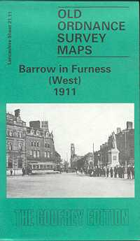 Old Ordnance Survey Maps of Cumberland: Barrow in Furness (West) 1911