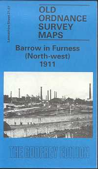 Old Ordnance Survey Maps of Cumberland: Barrow in Furness (North-West)
