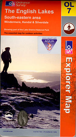 Aqua3 Explorer OL7: The English Lakes - South-eastern area