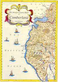 The Antique County Maps of Cumberland