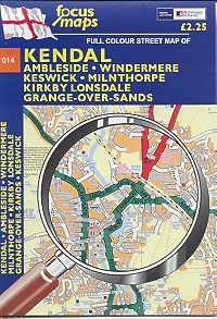 Kendal: Full Colour Street Map
