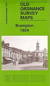 Old Ordnance Survey Maps of Cumberland: Brampton 1924