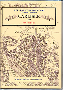 Heritage Cartography - Victorian Town Maps: Carlisle 1865