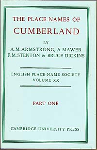 The Place-Names of Cumberland Part One