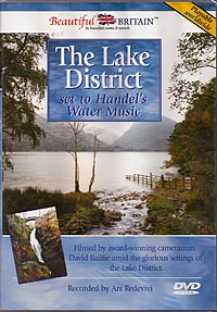 The Lake District DVD - Set to Handel's Water Music