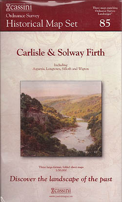 Cassini Historical Map Set - 85 - Carlisle & Solway Firth