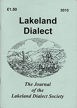 Lakeland Dialect - The Journal of the Lakeland Dialect Society - 2010