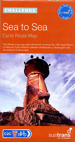 Sea to Sea - Cycle Route Map