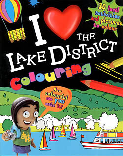 I Love the Lake District Colouring Book
