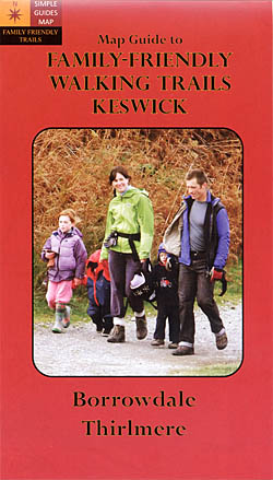 Map Guide to Family-Friendly Walking Trails Around Keswick Borrowdale & Thirlmere