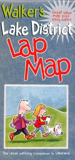 Walker's Lake District Lap Map
