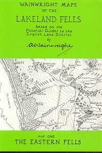 Wainwright Maps of the Lakeland Fells: Map One - The Eastern Fells
