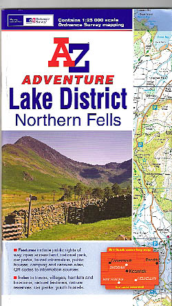 Lake District (Northern Fells) Adventure Atlas