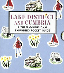 Lake District and Cumbria Three-Dimensional Expanding Pocket Guide
