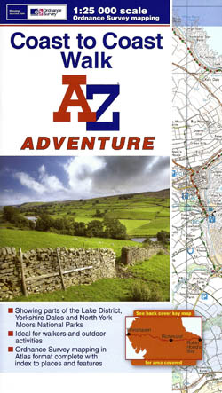 Coast to Coast Walk - A-Z Adventure Atlas