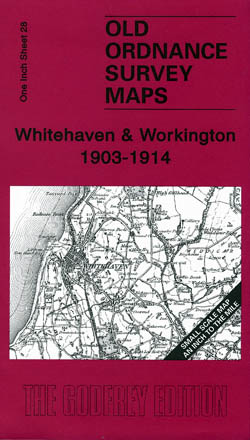 Old Ordnance Survey Maps Whitehaven and Workington 1903-1914