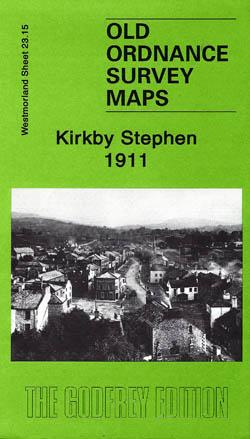 Old Ordnance Survey Maps Kirkby Stephen 1911