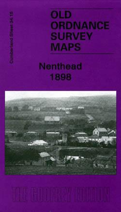 Old Ordnance Survey Maps Nenthead 1898