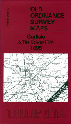 Old Ordnance Survey Maps Carlisle and the Solway Firth 1895