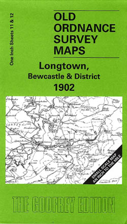Old Ordnance Survey Maps Longtown, Bewcastle and District 1902