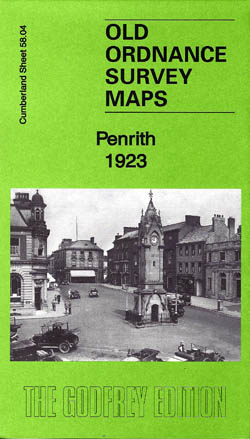 Old Ordnance Survey Maps Penrith 1923