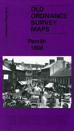 Old Ordnance Survey Maps Penrith 1898