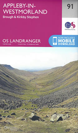 Landranger Map 91: Appleby-In-Westmorland