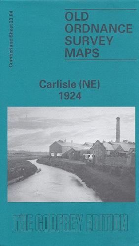 Old Ordnance Survey Maps of Cumberland: Carlisle (North East) 1924