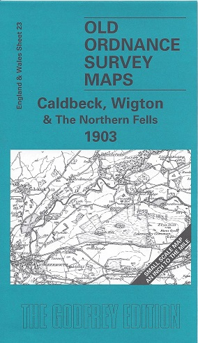 Old Ordnance Survey Maps of Cumberland: Caldbeck, Wigton & The Northern Fells 1903