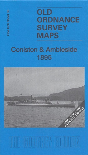 Old Ordnance Survey Maps: Coniston and Ambleside 1895