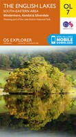 Lakes South Eastern Area OS Explorer Map; OL07