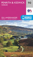 Penrith & Keswick, Ambleside OS Landranger Map; 090