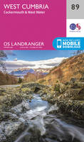 West Cumbria, Cockermouth & Wast Water OS Landranger Map; 089