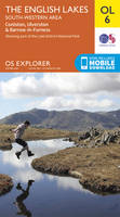 The English Lakes - South-Western Area, Coniston, Ulverston & Barrow-in-Furness OS Explorer Map; OL 06