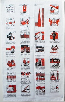 25 Amazing Carlisle Facts teatowel