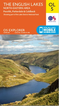 OL5 The English Lakes: North-Eastern Area Penrith, Patterdale & Caldbeck