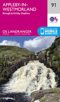 Appleby-In-Westmorland OS Landranger Map; 91