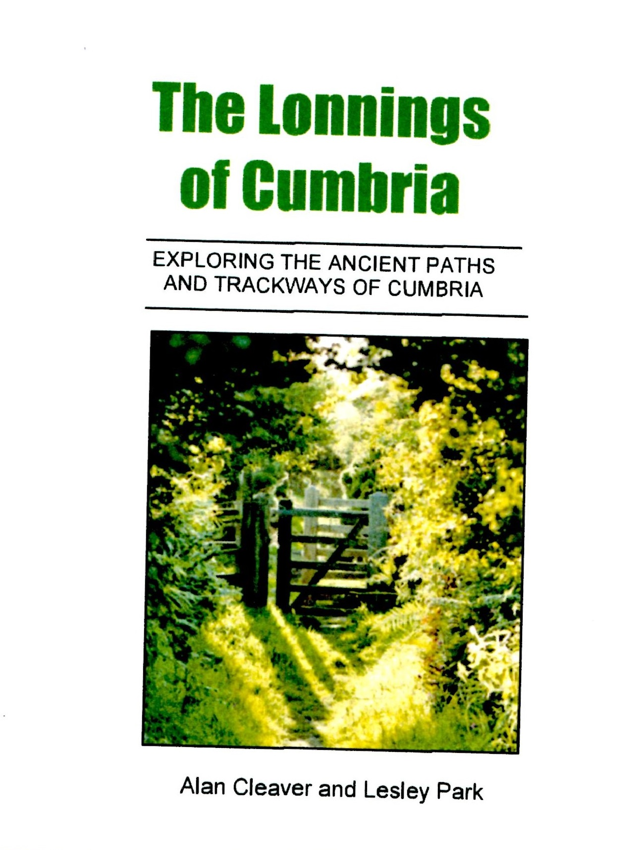 The Lonnings of Cumbria
