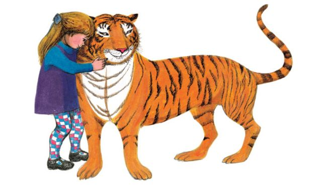 The Tiger Who Came to Tea Party Ticket